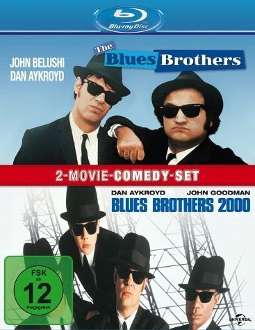 Blu-ray »The Blues Brothers / Blues Brothers 2000 (2...«